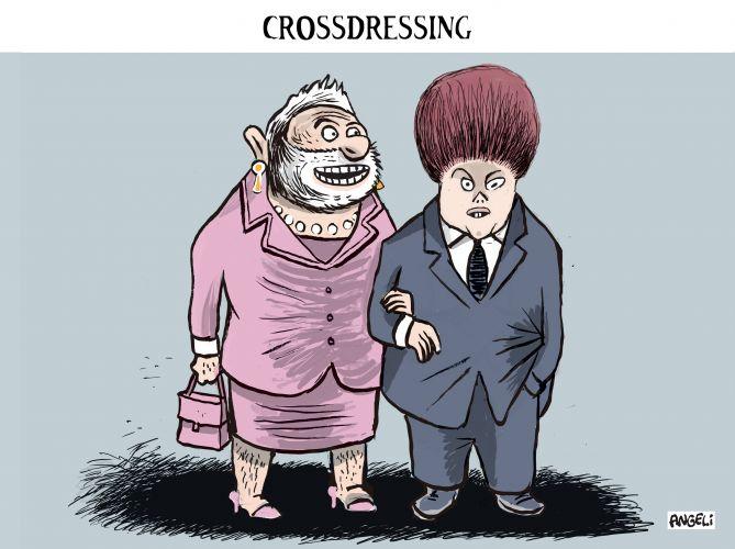 crossdressing laerte by Angeli