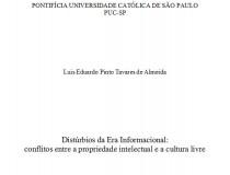 Distúrbios da Era Informacional, Luís Eduardo Tavares (PUCSP)