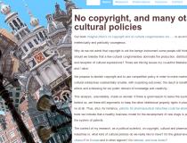 Imagine um mundo sem direitos de autor nem monopólios