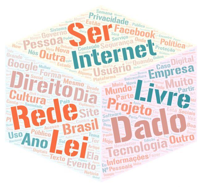 1873a504cab8f Dado  341  Rede  240  Internet  237  Livre  203  Lei  199  Direito  183  Ser   175  Projeto  171  Tecnologia  169  Empresa  165.